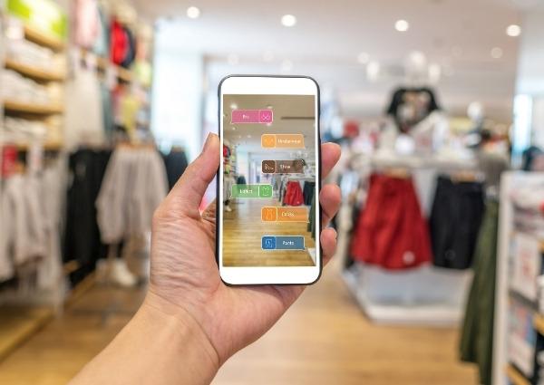 shopping et réalité augmentée