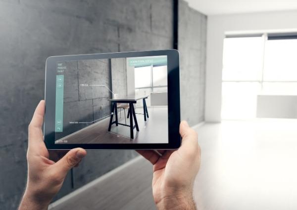 mobilier et réalité augmentée